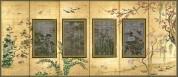 A307-1~3(四季花鳥図 御簾