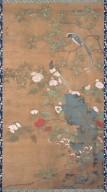 A315-1(花鳥図 曹明周筆 右幅)